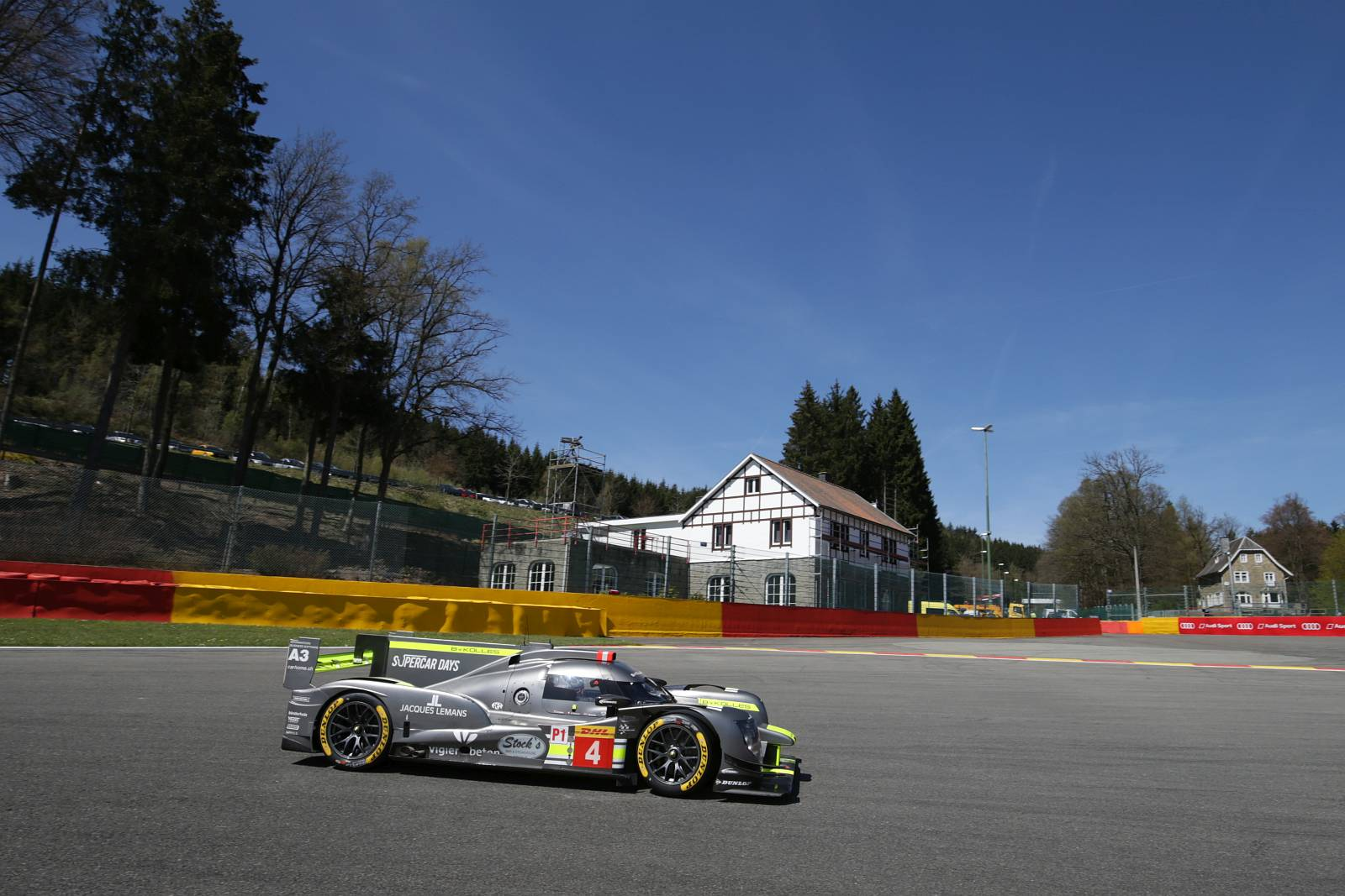 ByKOLLES RACING claims third place in the WEC 6 Hours of Spa-Francorchamps
