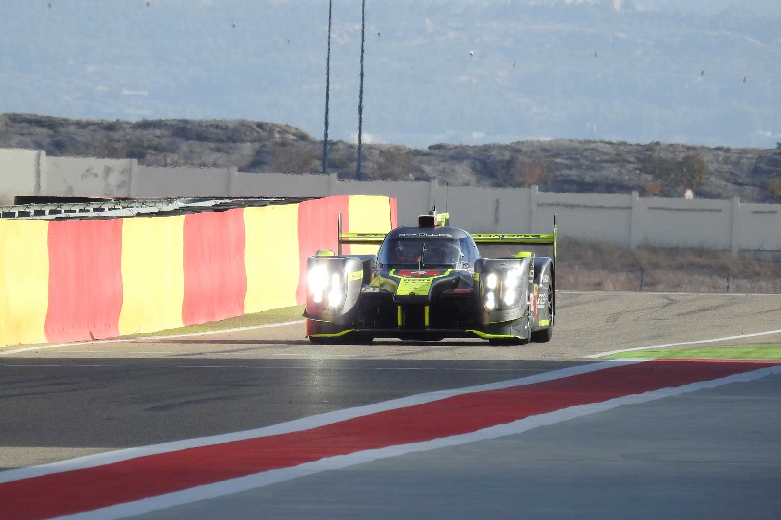 ByKOLLES RACING completed Aragon Test