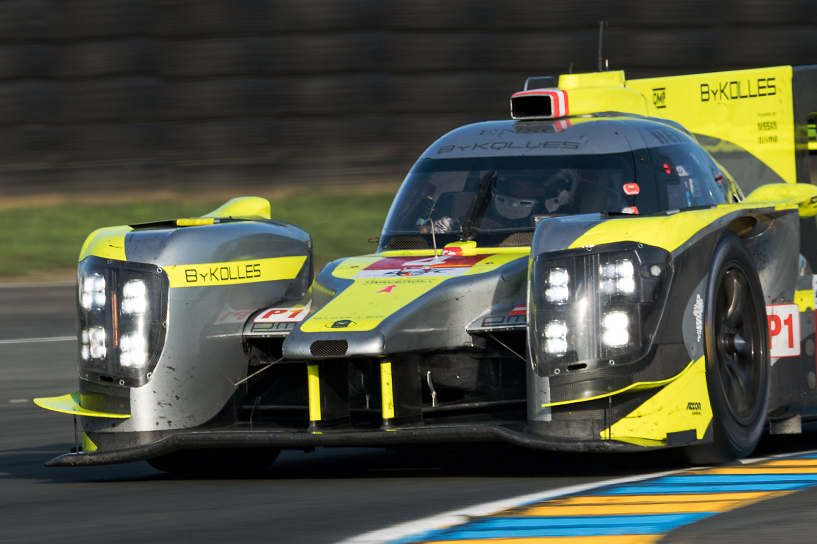 ByKolles test major upgrade at Spa